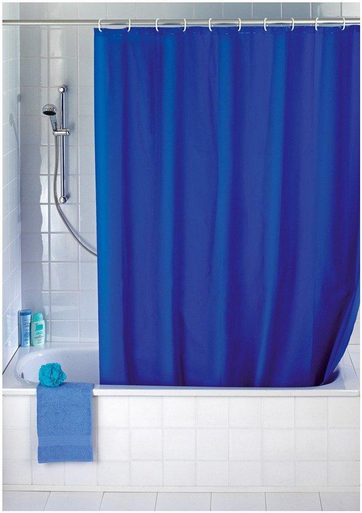 Wenko Shower Curtain Night Blue Textile Washable Polyester Dark Blue Ebay